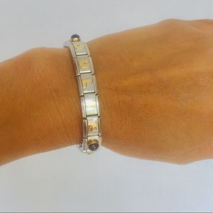 "Nomination Jewelry - Nomination""JULIE""Stainless Steel/18K Gold Bracelet"